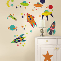 Blast Off Wall Decal Set | zulily