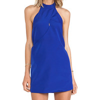 keepsake One More Night Dress in Blue