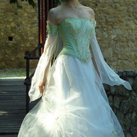 Fairy Princess Corseted Ball or Alternative Wedding by KataKovacs