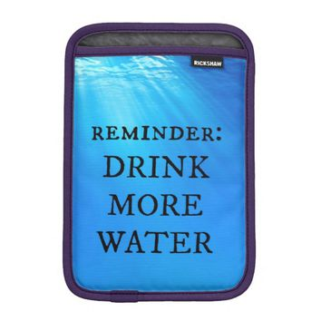 Water iPad Mini Sleeve