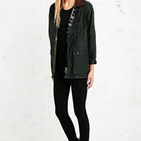 Vintage Renewal Wax Jacket in Green - Urban Outfitters