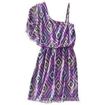 Xhilaration® Juniors One Shoulder Dress - Assort... : Target