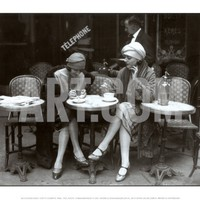 Cafe et Cigarette Paris, 1925 Art Print at Art.com