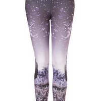 Cactus Scene Print Leggings - New In This Week  - New In  - Topshop