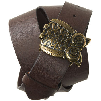 Owl Buckle Belt