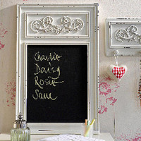 ornate antique style chalkboard by the orchard | notonthehighstreet.com