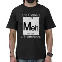 Element MEH Dark Shirts from Zazzle.com