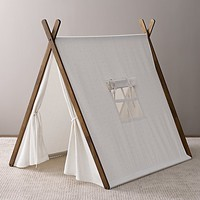 Printed Canvas A-Frame Tent Pink Star
