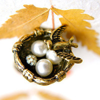 The Guardian Sparrow Ring | Trinkettes