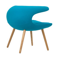 Laguna Wave Armchair in Teal