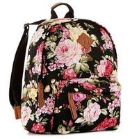 Madden Girl Skool Floral Backpack