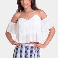 Just Dance Off Shoulder Top