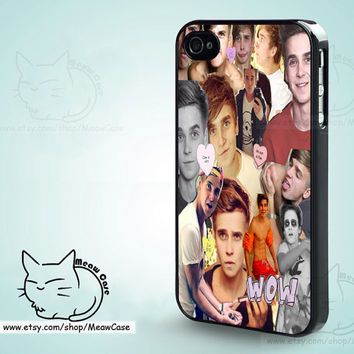 Joe sugg iPhone 5 Case,iPhone 5S Case,iPhone 4S/ 4 Case,iPhone Case,Samsung Case,Samsung S5,S4 - case color black,white,clear