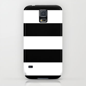Stripe Black & White iPhone & iPod Case by BeautifulHomes | Society6