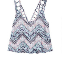 Lattice Back Tank -