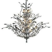 Elegant Lighting, Crystal Chandelier - Lighting &amp; Lamps - furniture - Macy&#x27;s