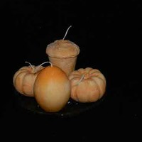 Strongly Scented Pumpkin Souffle Candle Assortment Egg Latte Pumpkin
