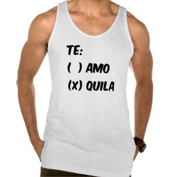 TE AMO OR QUILA TANK TOP