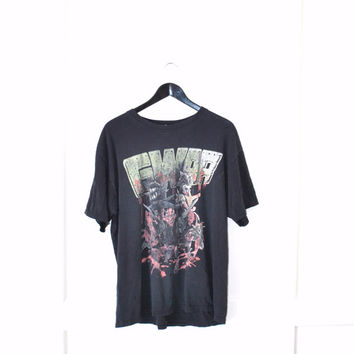 GWAR heavy metal tour shirt / distressed concert t shirt