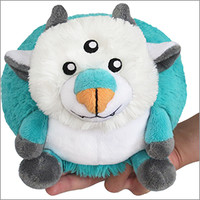 Mini Squishable Hakutaku: An Adorable Fuzzy Plush to Snurfle and Squeeze!