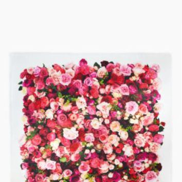 buenos aires real rose silk square - kate spade new york