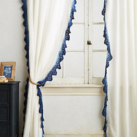 Santina Lace Curtain by Anthropologie