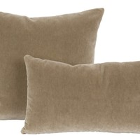 Cement Mohair Pillows