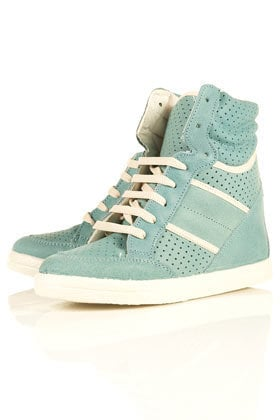 AEROBIC Hi-Top Trainer Wedges - Topshop USA