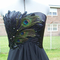 Raging Raven in Chiffon and mini skirt underneath by LOVEKARLAK
