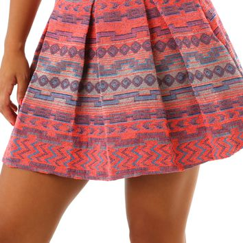 Anywhere For You Skirt: Multi