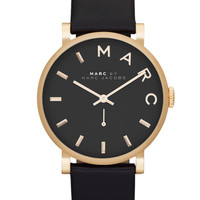 Jewelry & Accessories | Women's Watches | Ladies' Baker Gold-Tone & Leather Watch | Lord and Taylor