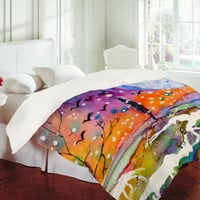 DENY Designs Home Accessories | Ginette Fine Art Big Moon Duvet Cover