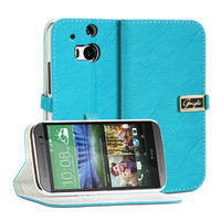 Wallet Case Glamour - Designed for HTC One M8