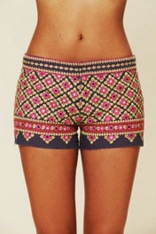 Free People FP ONE Ipanema Embellished Short at Free People Clothing Boutique