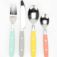 Mix & Match Cutlery - Set of 16 - Urban Outfitters