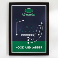 Hook & Ladder, Sport Poster Framed Art