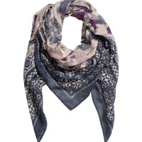 H&M - Patterned Scarf -