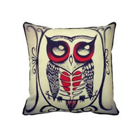 Owl Pillow from Zazzle.com