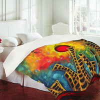 "DENY Designs Home Accessories | Madart Inc. ""Glimmer Of Hope"" Duvet Cover"