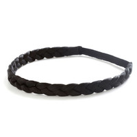 ModCloth Boho Off the Coif Headband in Black