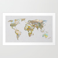 NEW ORDER Art Print by Bianca Green