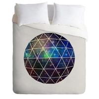 Terry Fan Space Geodesic Duvet Cover