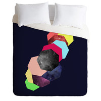 Ceren Kilic Hexagon Life Duvet Cover