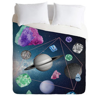 Ceren Kilic In The Sky Duvet Cover
