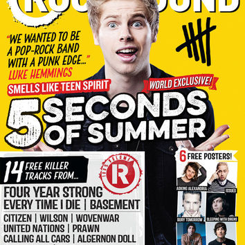 Rock Sound Magazine Store — ISSUE 190.1 / 5 SECONDS OF SUMMER / LUKE