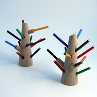 Switched On Set: Wooden Pencil Tree from Snowhome