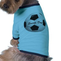 Customizable Soccer Ball Dog Clothes from Zazzle.com