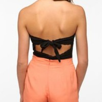 UrbanOutfitters.com > Pins and Needles Open-Back Strapless Top