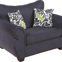 Heather Black Mini Sofa