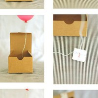Mini Balloon-In-A-Box Invitations - ** Happiness Is...**